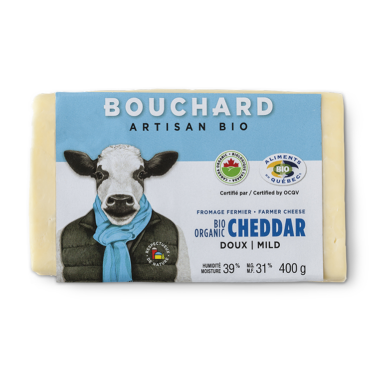 Cheddar doux Bouchard Artisan Bio