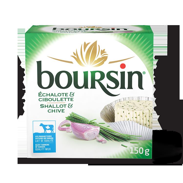 Boursin Échalote et Ciboulette