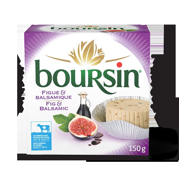 Boursin Figue et Balsamique