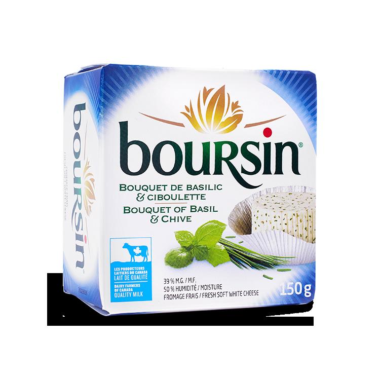 Boursin Bouquet de Basilic et Ciboulette