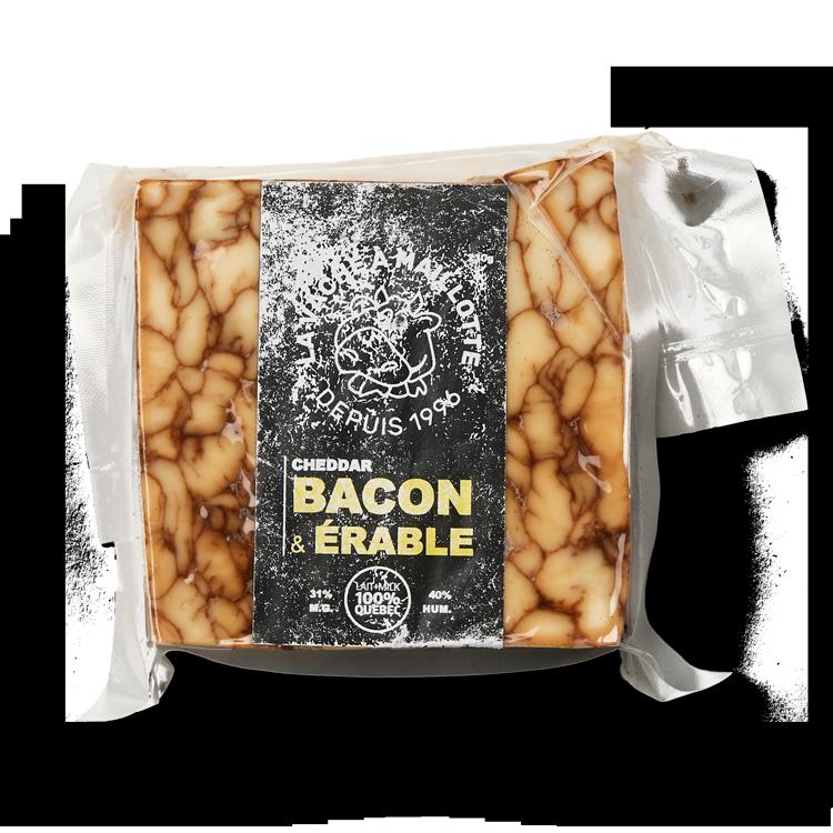 Cheddar Bacon et Érable