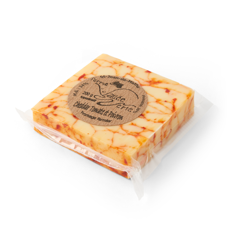 Cheddar Tomate-Poivron
