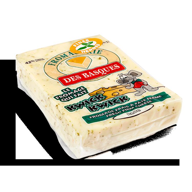 Cheddar des Basques aux Fines Herbes
