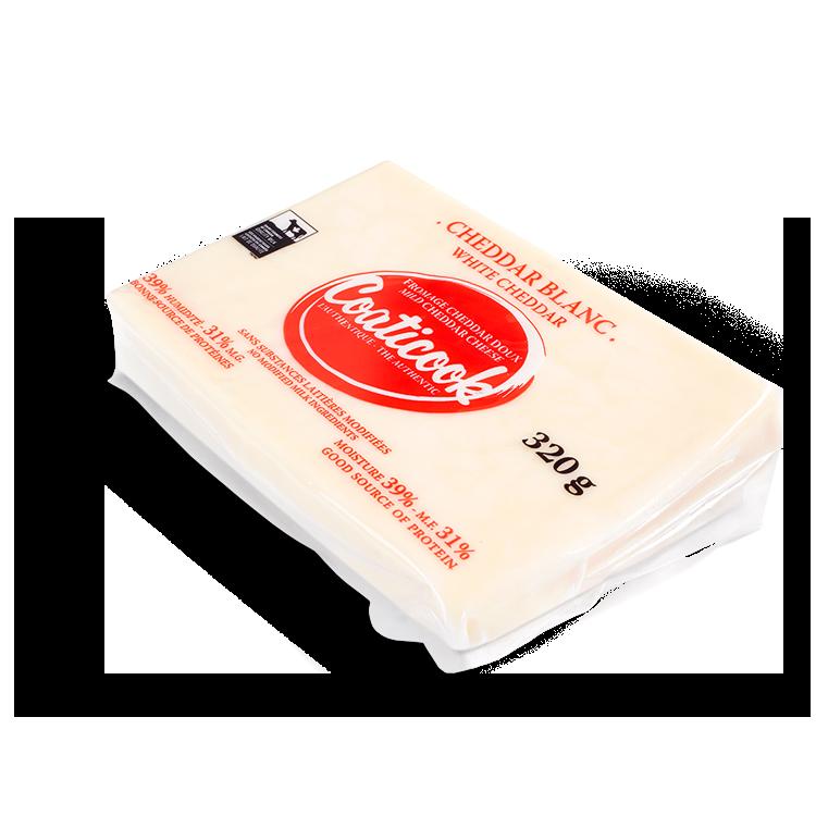 Cheddar Coaticook Non-Salé