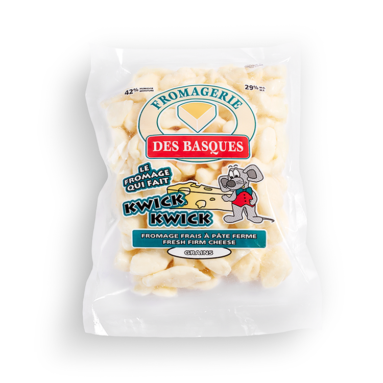 Cheddar des Basques en Grains