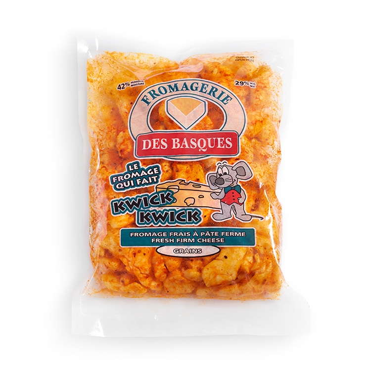 Cheddar des Basques en Grains au BBQ