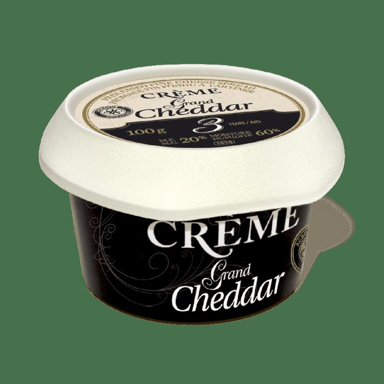 Crème Grand Cheddar - plus disponible