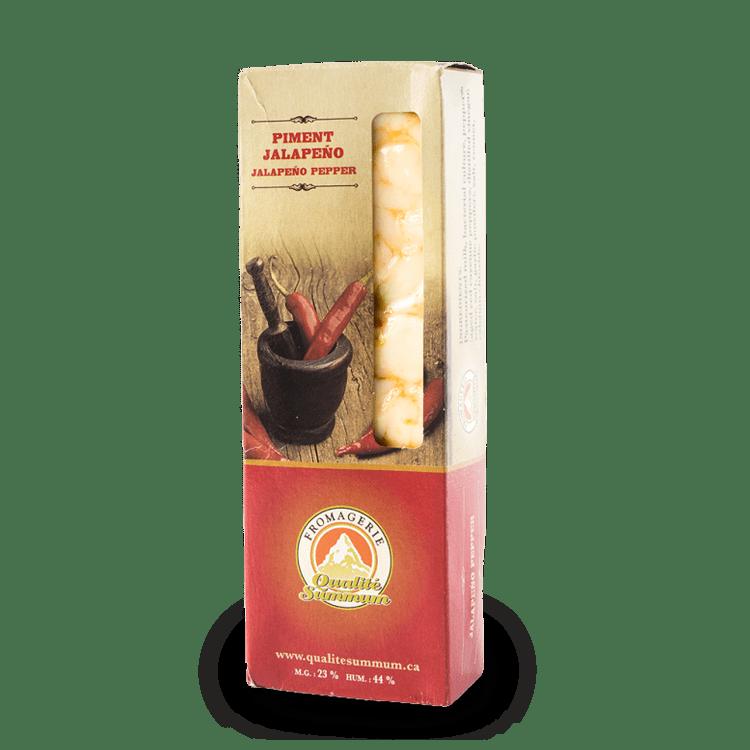 Cheddar Qualité Summum au Piment Jalapeno