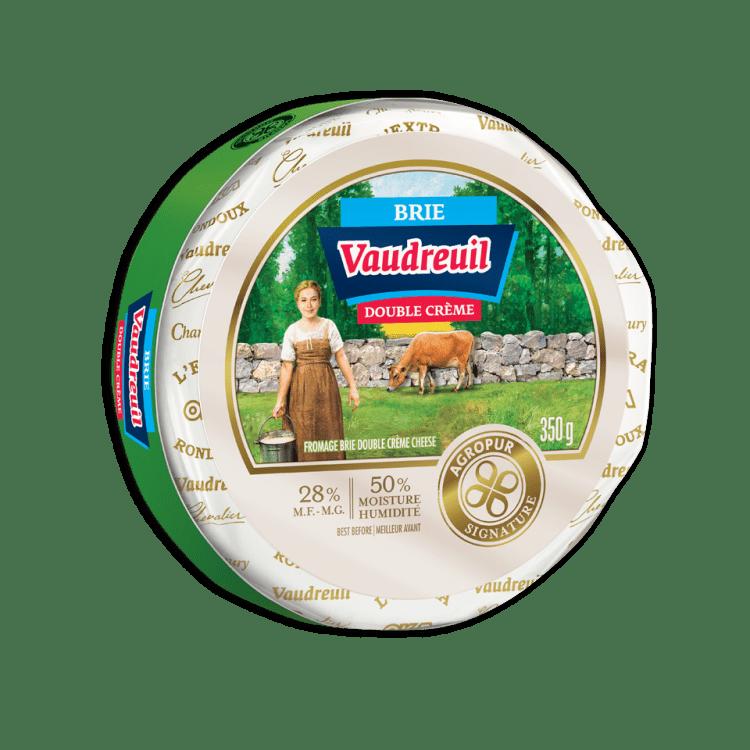 Brie Vaudreuil Double Crème