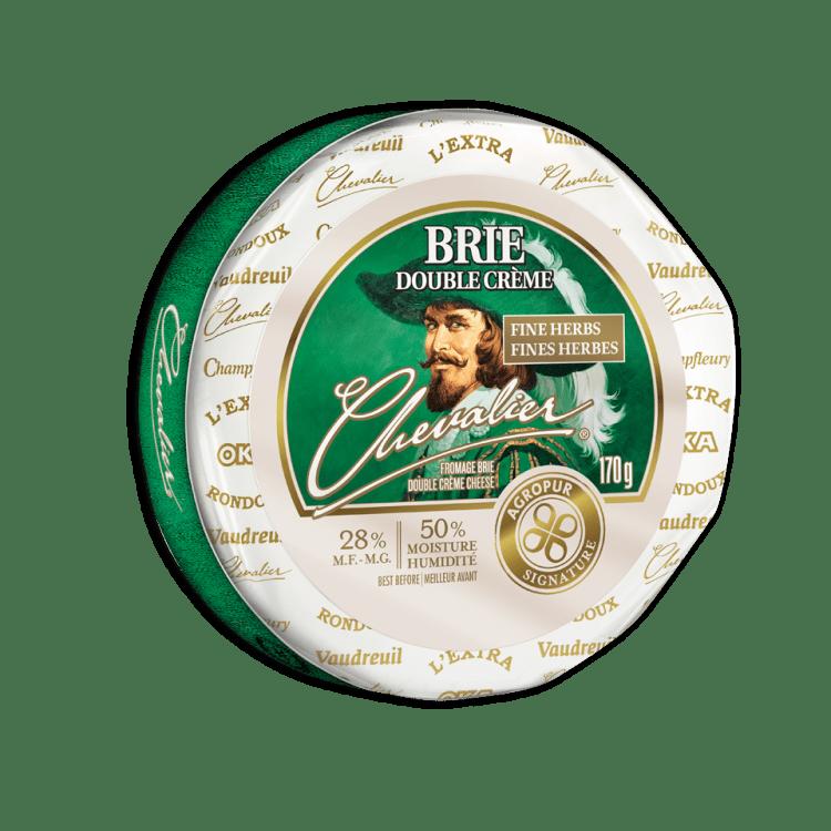 Brie Chevalier Double Crème aux Fines Herbes