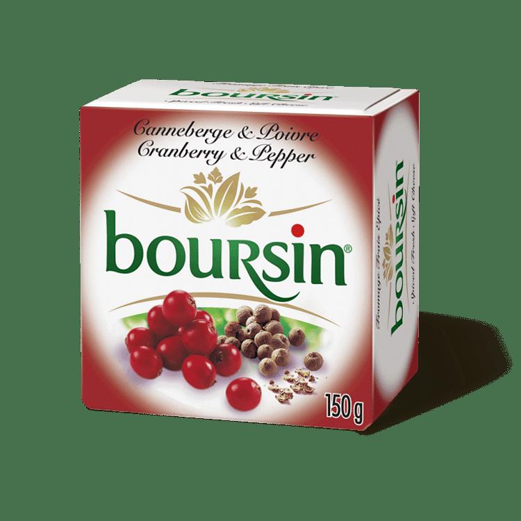 Boursin aux Canneberges et au Poivre