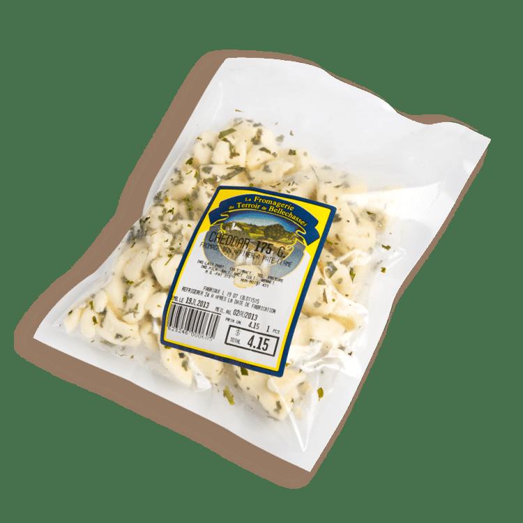 Cheddar du Terroir de Bellechasse en Grains aux Fines Herbes