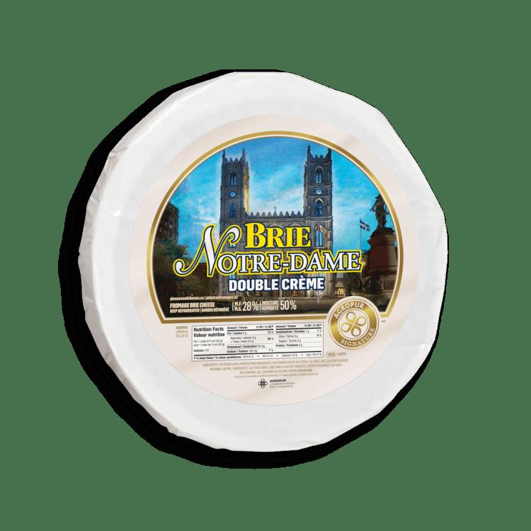 Brie Notre-Dame Double Crème