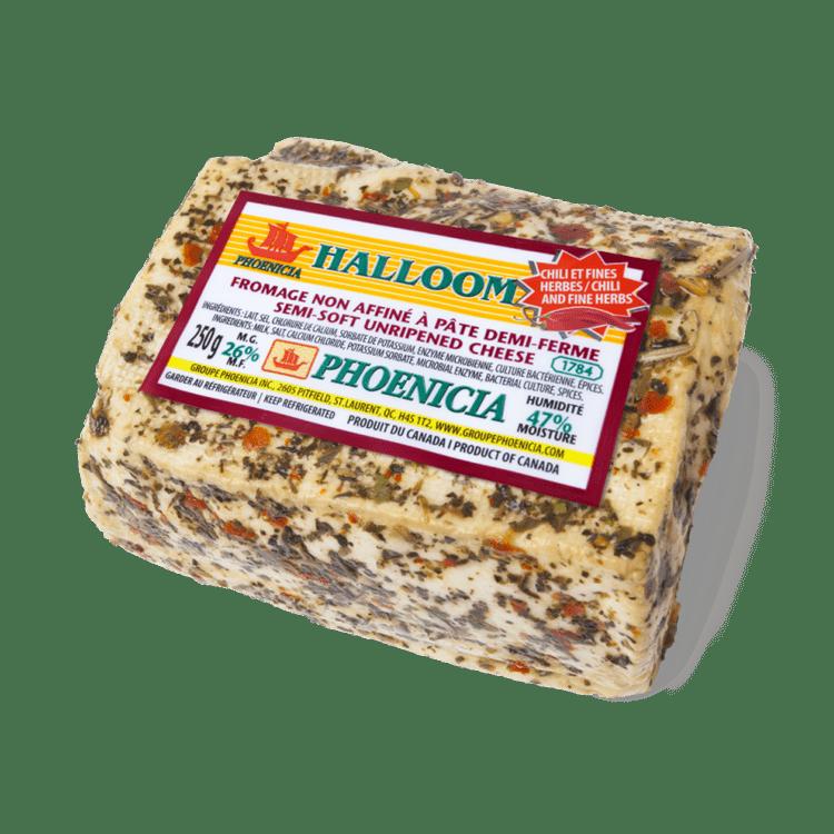 Halloom Phoenicia au Chili et Fines Herbes