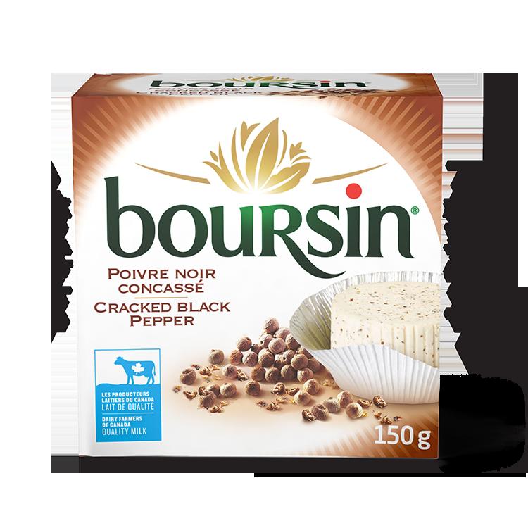 Boursin Poivre Noir Concassé