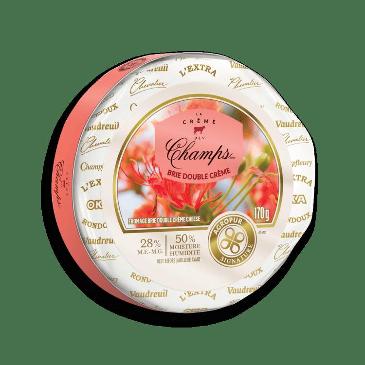 Brie La Crème des Champs Double Crème