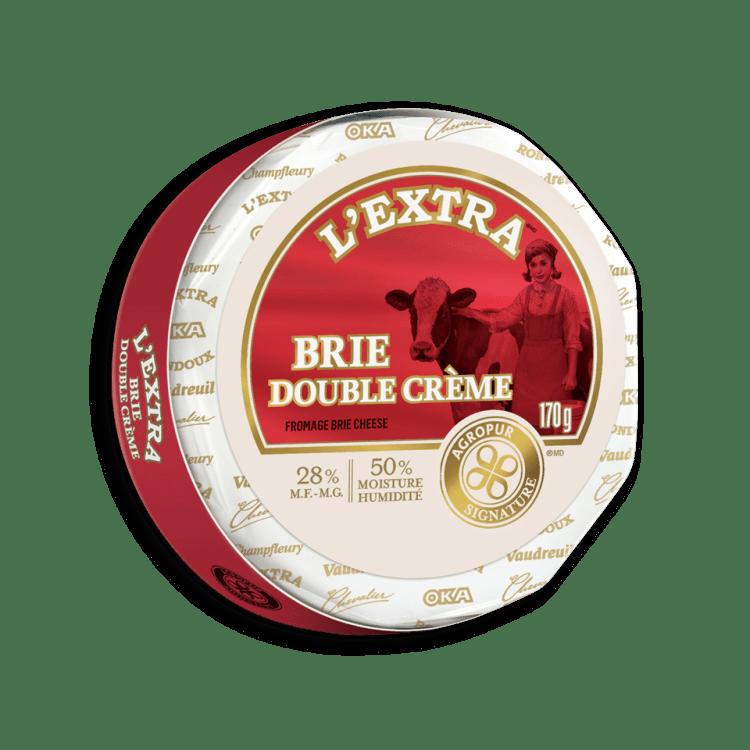 Brie L'Extra Double Crème