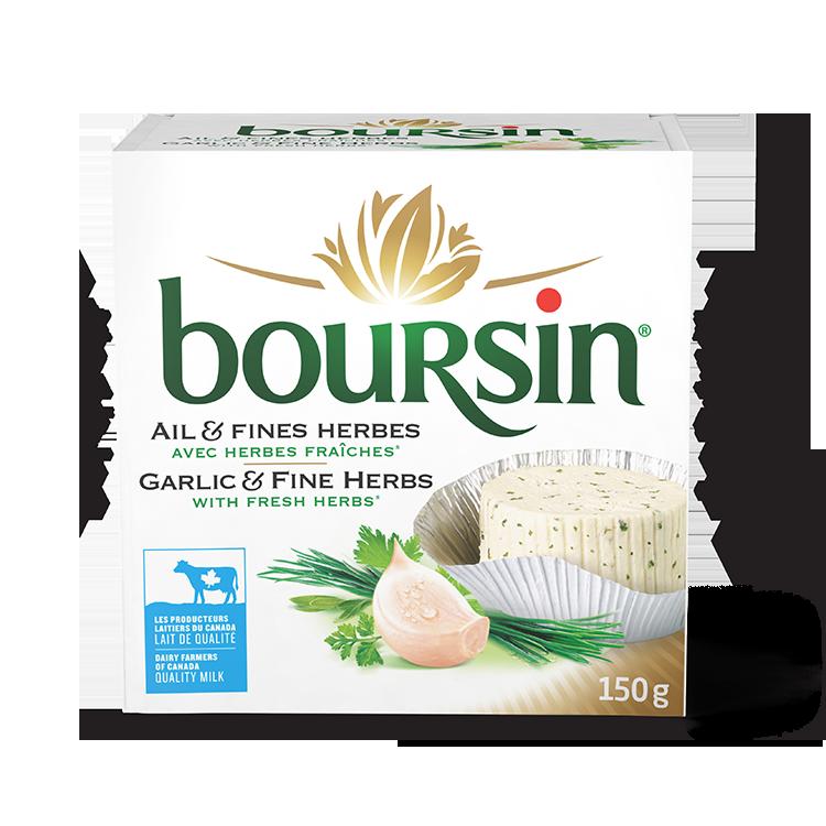 Boursin Ail et Fines Herbes