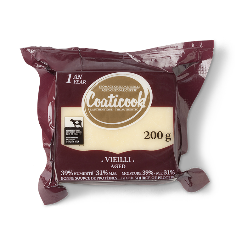 Cheddar Coaticook Vieilli