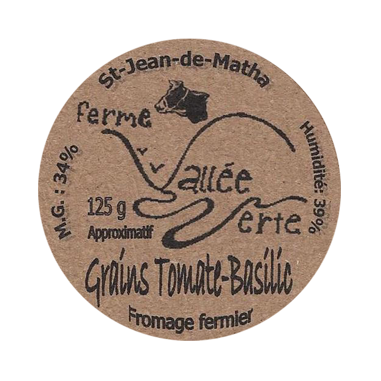 Cheddar en Grains Tomate-Basilic