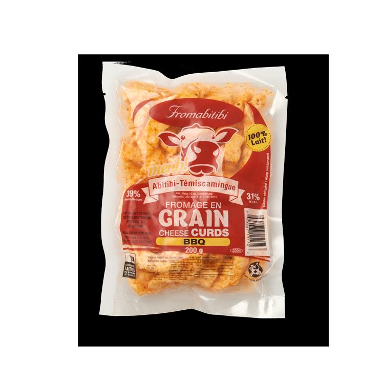Cheddar du Rang 10 au BBQ en Grains