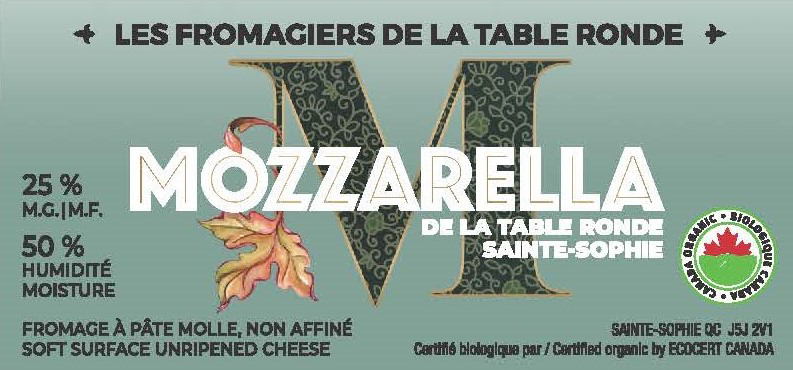 Mozzarella de la Table Ronde
