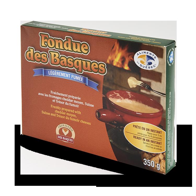 Fondue des Basques Légèrement Fumée