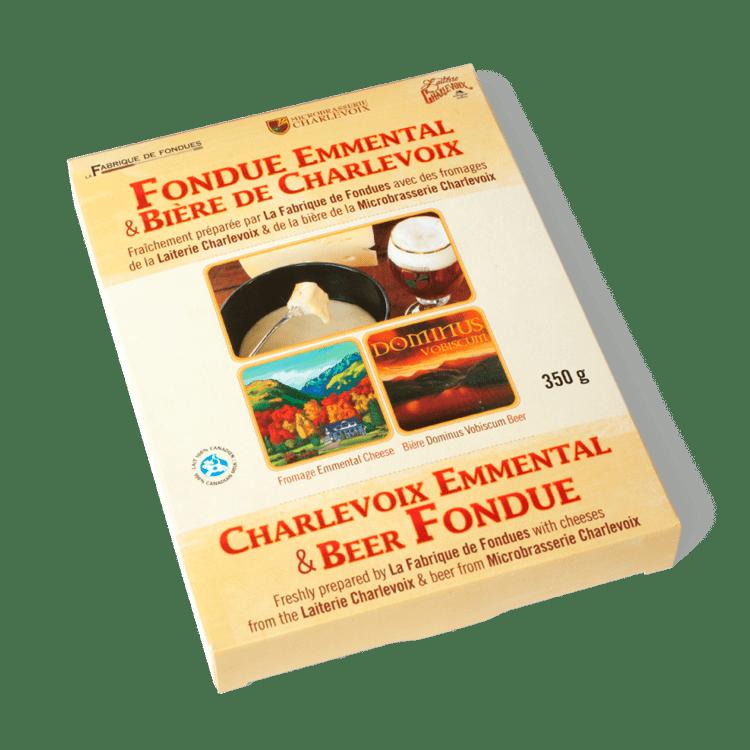 Non disponible - Fondue Emmental & Bière de Charlevoix
