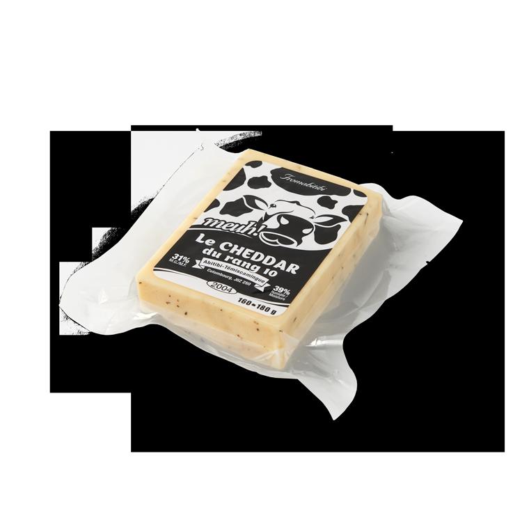 Cheddar du Rang 10 au Pesto