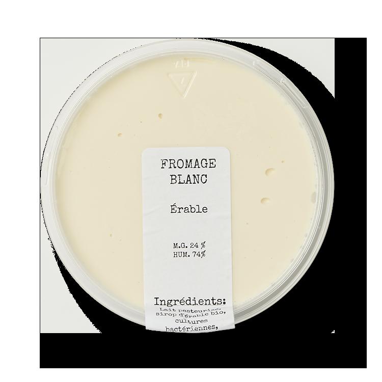 Fromage Blanc au Sirop d'Érable La Suisse Normande