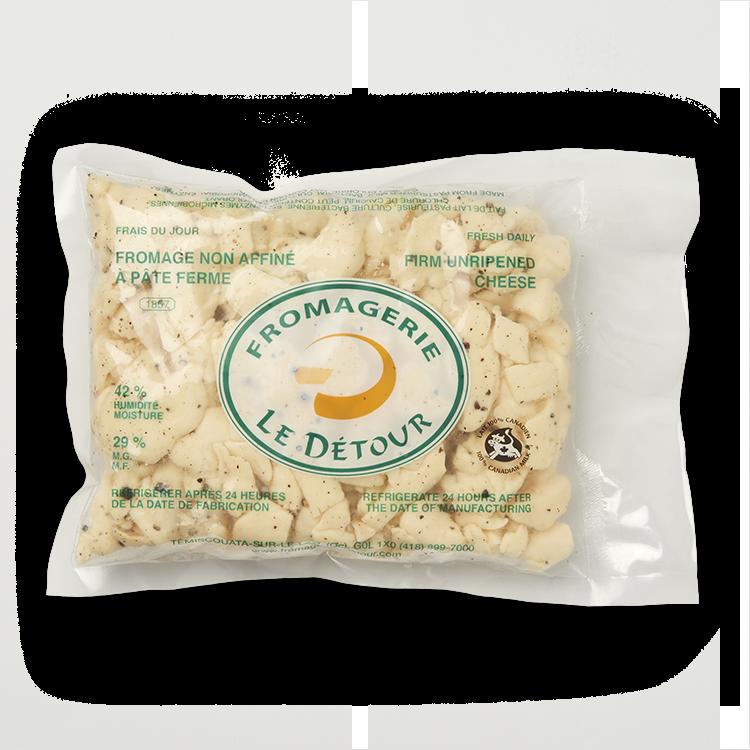 Fromage Cheddar Le Détour en Grains au Poivre