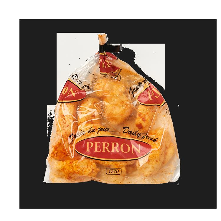 Cheddar Perron en Grains au BBQ