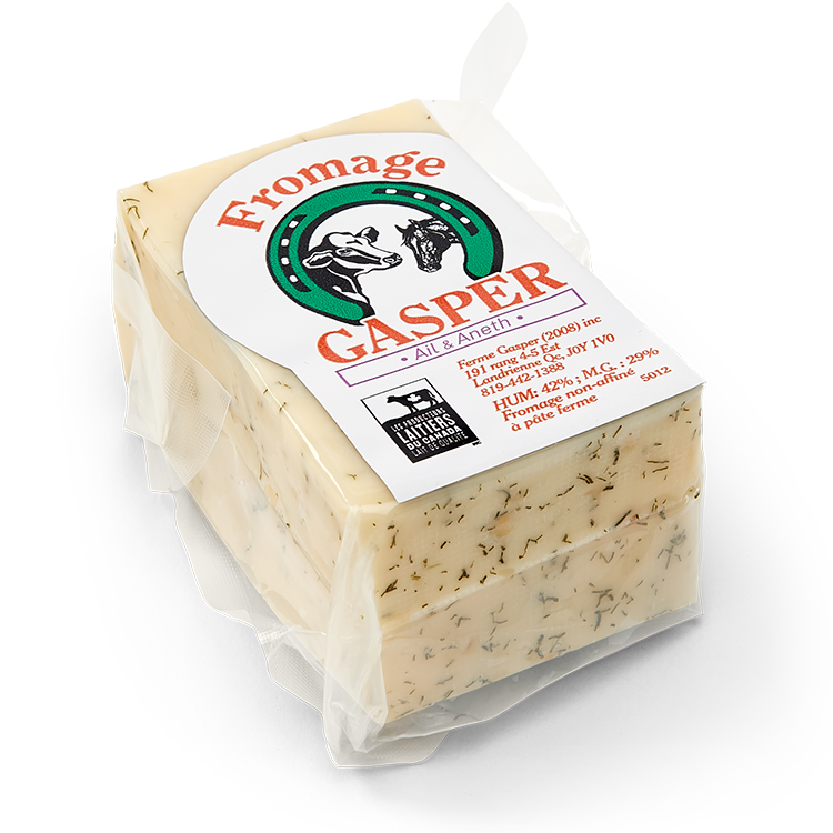 Fromage Gasper Ail et Aneth