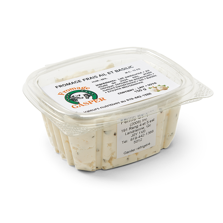 Fromage Gasper Ail et Basilic