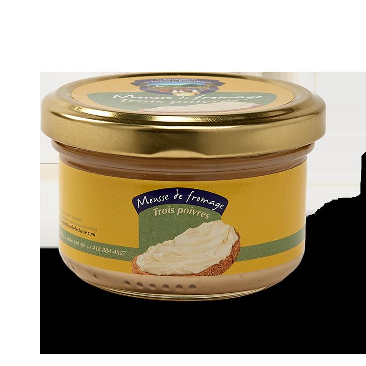 Mousse de Fromage Trois Poivres