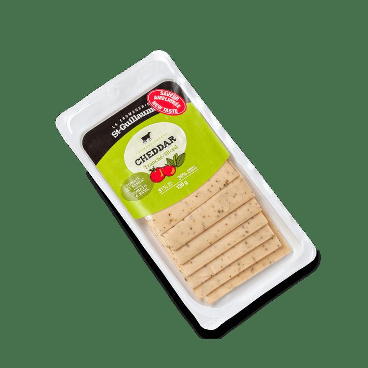 Cheddar St-Guillaume aux Tomates et Basilic