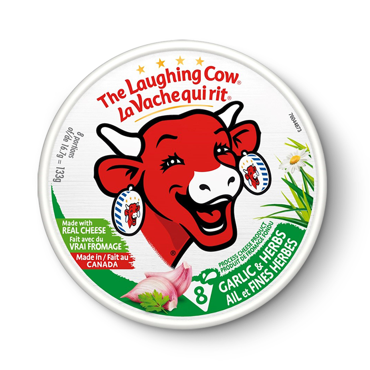 La Vache qui rit à l'Ail et aux Fines Herbes